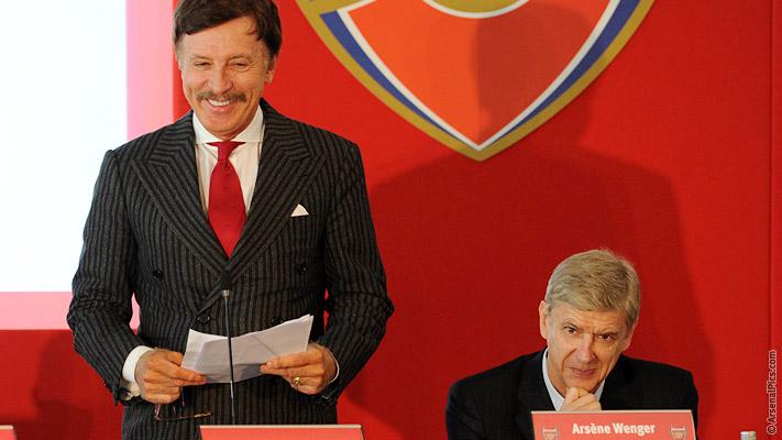Agm Read Kroenke And Wenger S Speeches News Arsenal Com