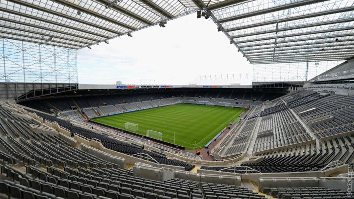 Newcastle away fans singing celebrity