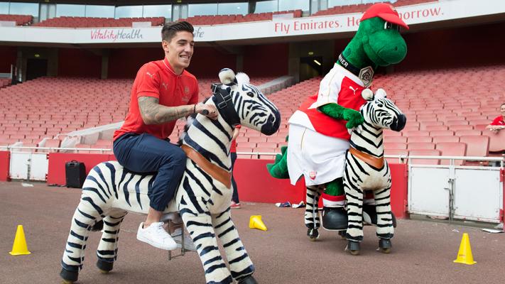 Gunner v Players: Zebra race