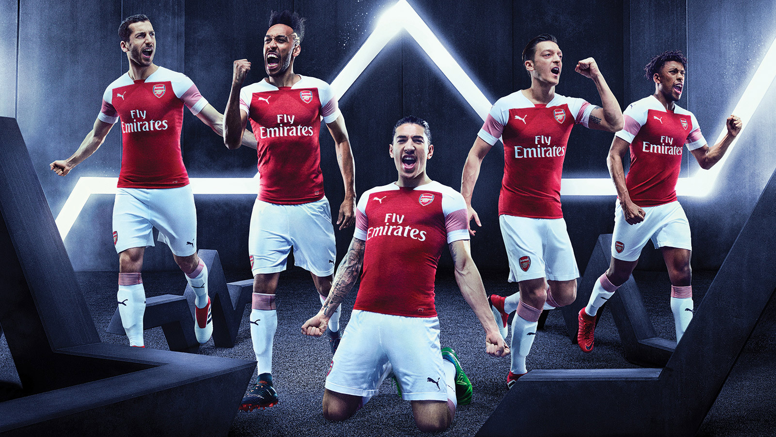 Arsenal Gallery: Arsenal And PUMA Unveil 2018/19 Home Kit