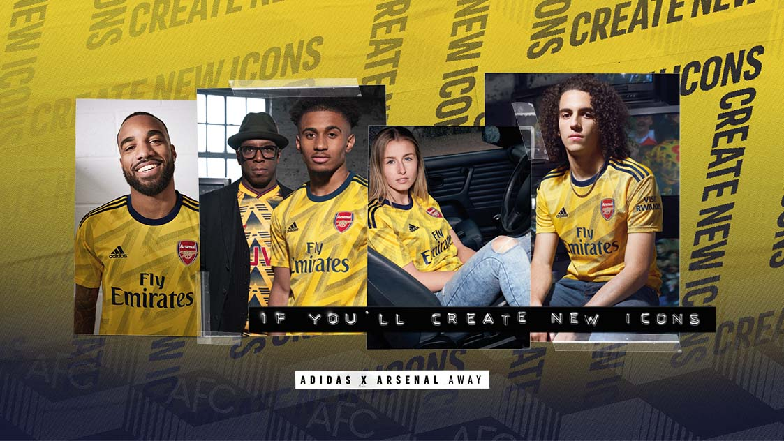 size 40 75b83 db45a adidas x Arsenal away kit 2019/20 | adidas x Arsenal | News ...