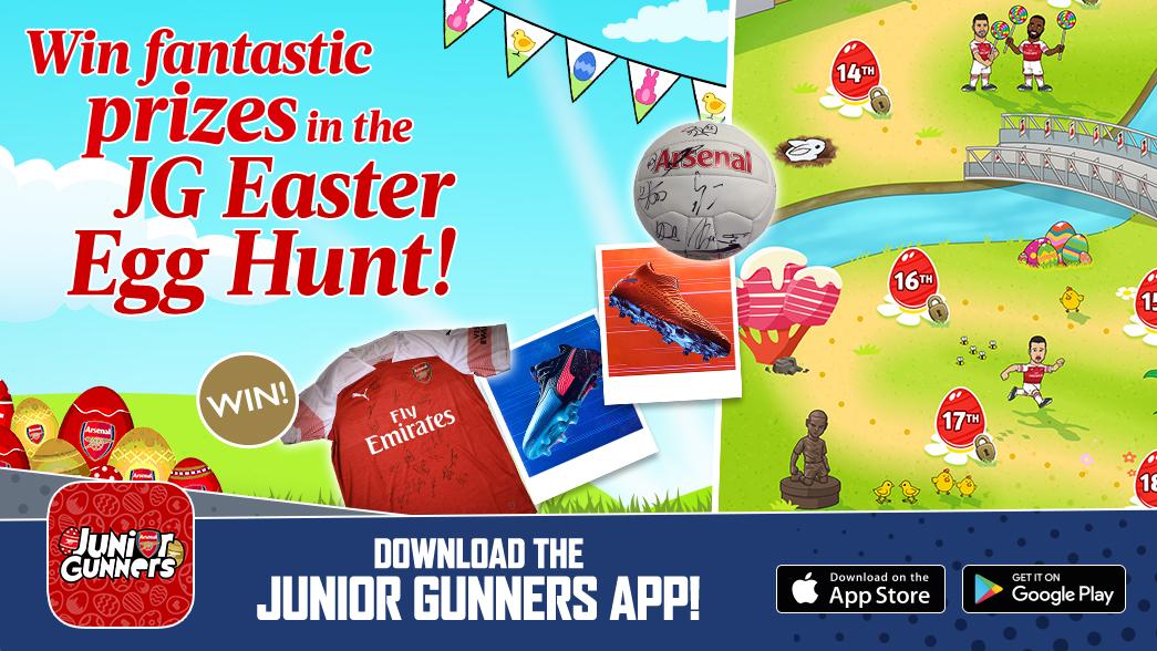 QnA VBage The JG app Easter Egg Hunt Returns