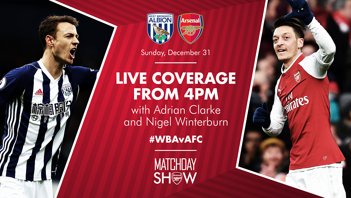 Follow Our Game On New Year S Eve Live Matchday Show