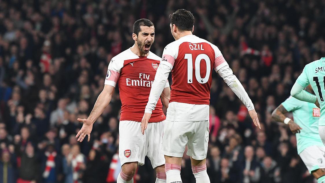 Henrikh Mkhitaryan Cemerlang, Arsenal Kalahkan Bournemouth