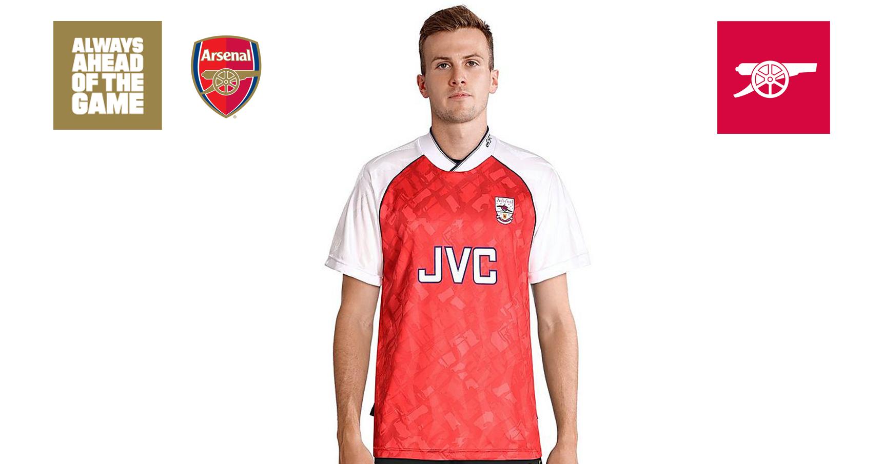 newest 812fa 80a0b Cannon - Win a retro Arsenal shirt | News | Arsenal.com