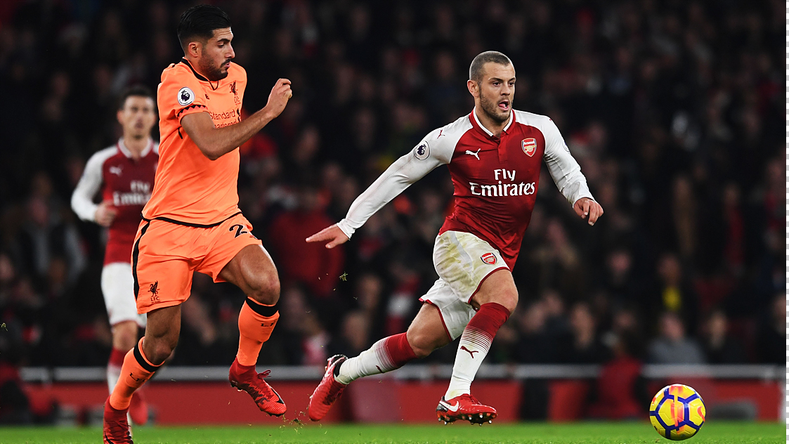 Arsenal 3-3 Liverpool: In Pictures