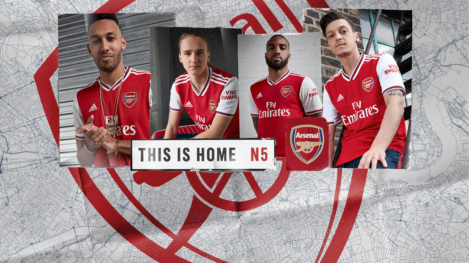 Adidas And Arsenal Launch New Home Kit