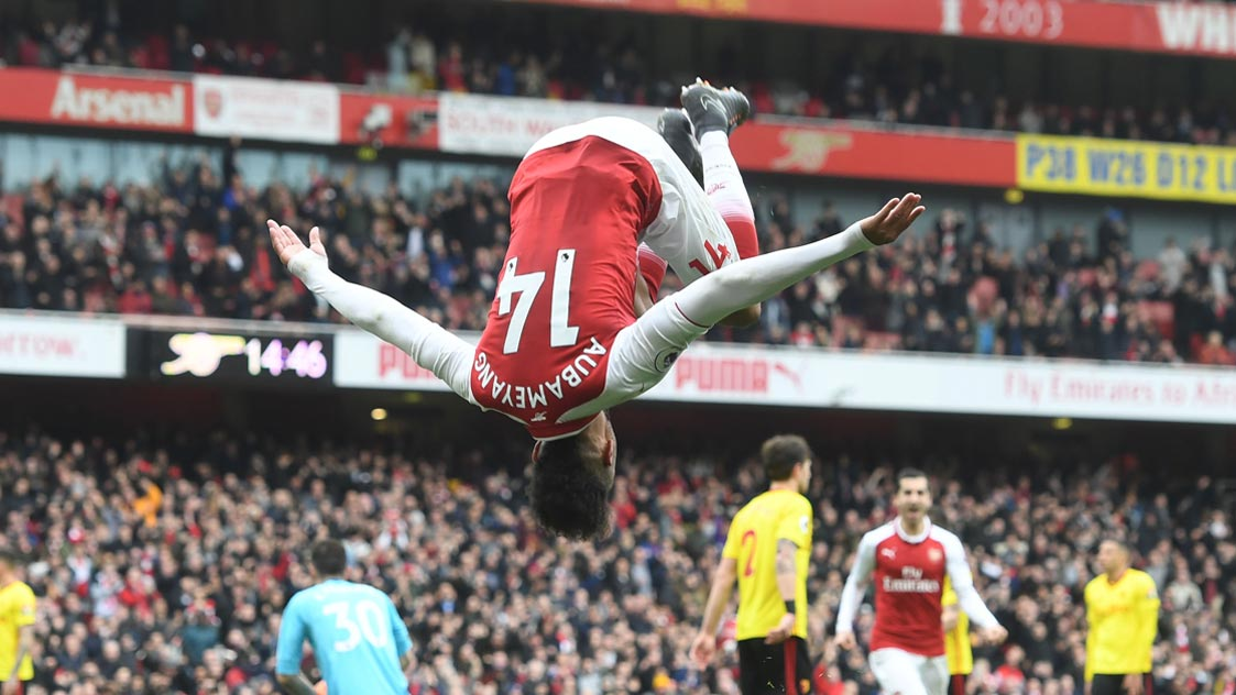 arsenal 30 watford in pictures postmatch gallery