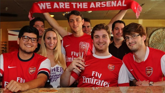 supporters arsenal gooners
