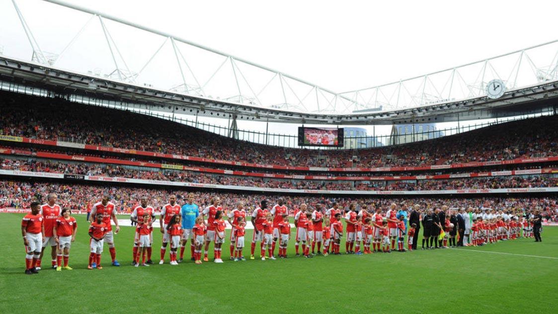 Arsenal Legends v Real Madrid Legends - Tickets
