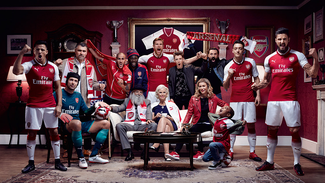 Arsenal and PUMA reveal 2017/18 home kit | News | Arsenal.com
