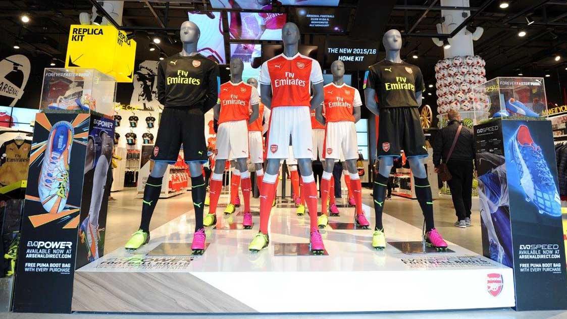 02a740793 Arsenal Shopping