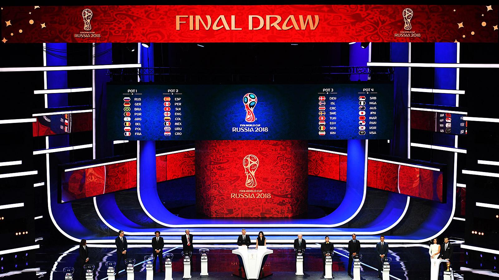 чемпионата по мира жеребьевка пройдет 2018 где футболу