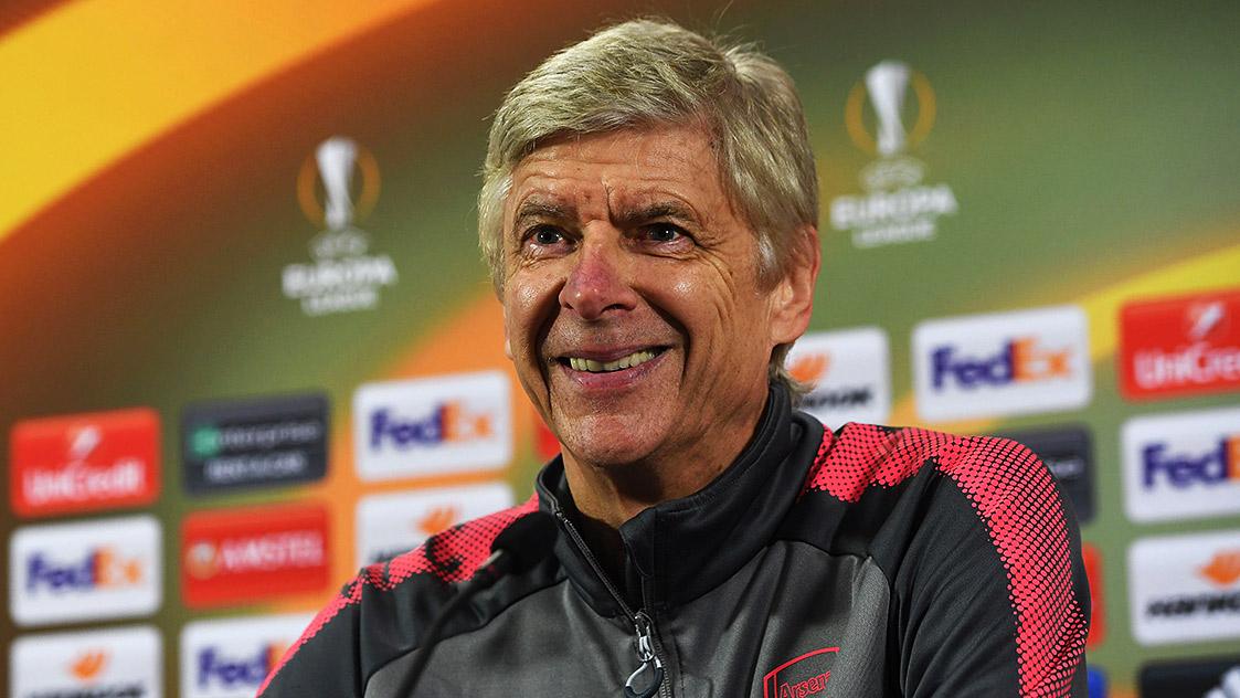 Wenger live: Atletico, Ozil, team news