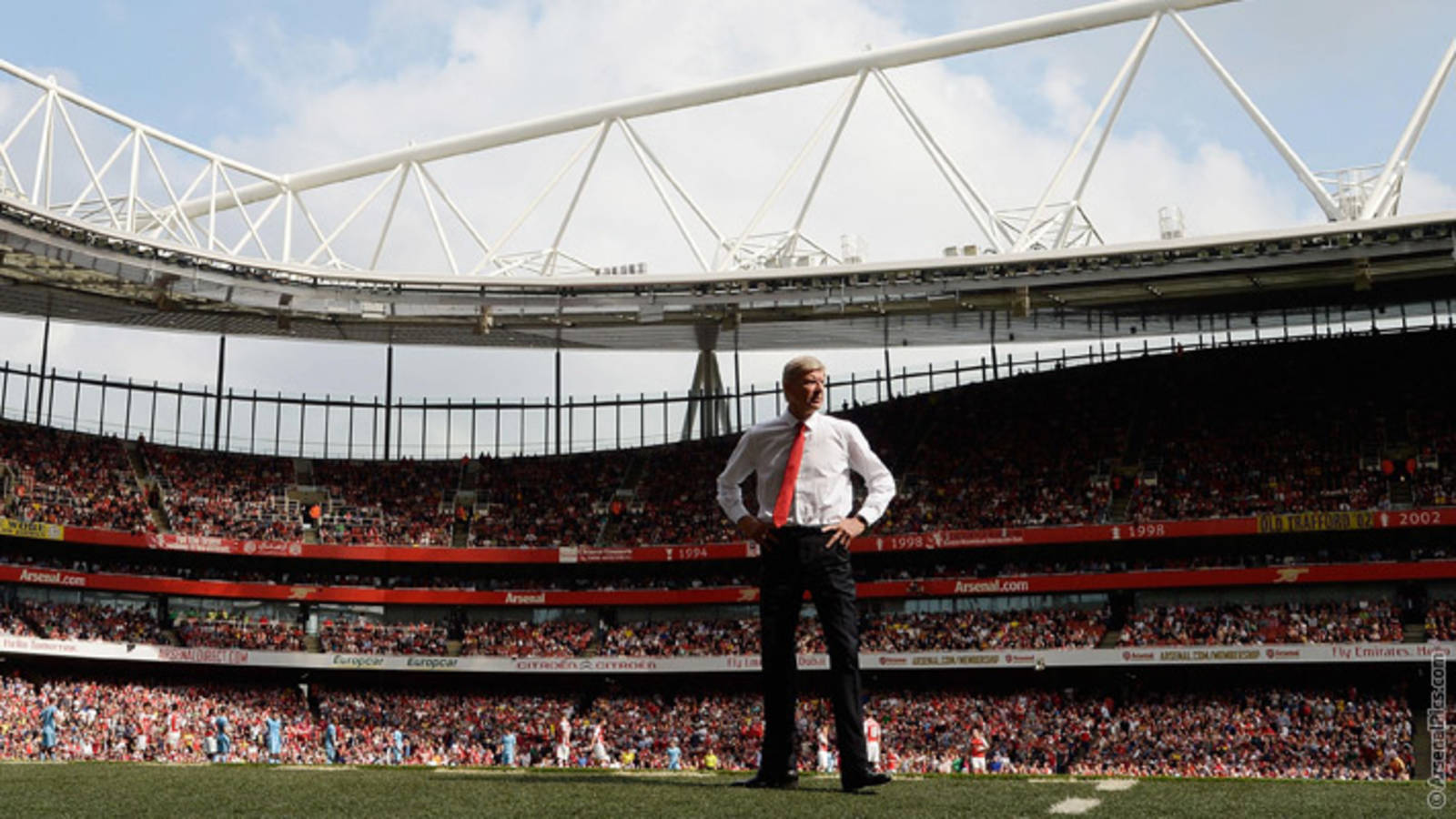 Wenger S 20 Years In Pictures Part One News Arsenal Com