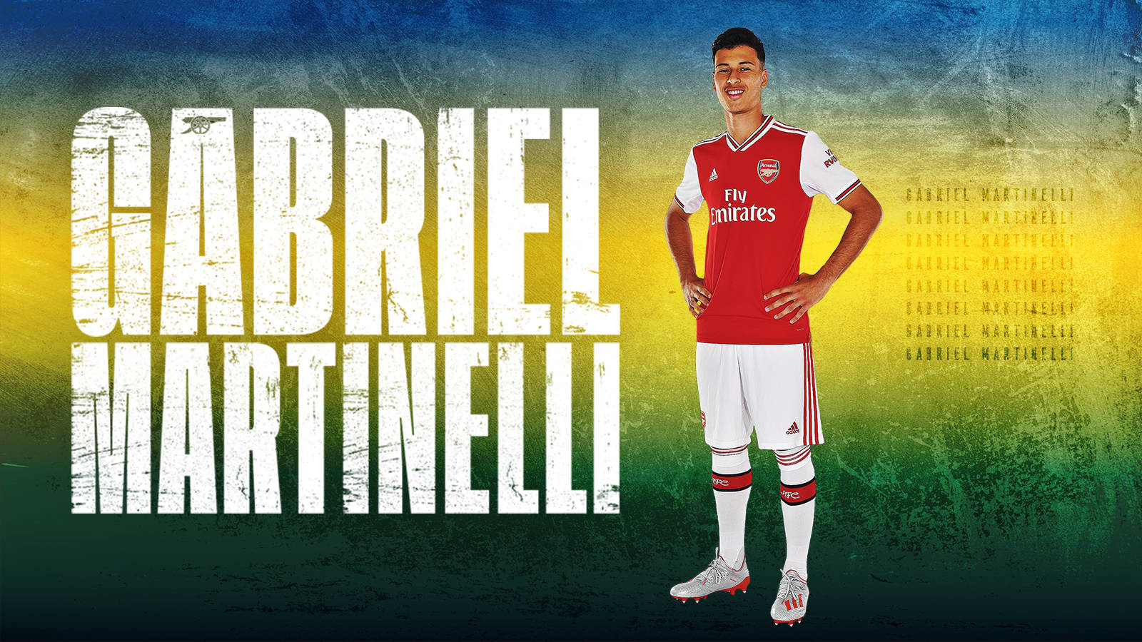Gabriel Martinelli To Join Club News Arsenal Com