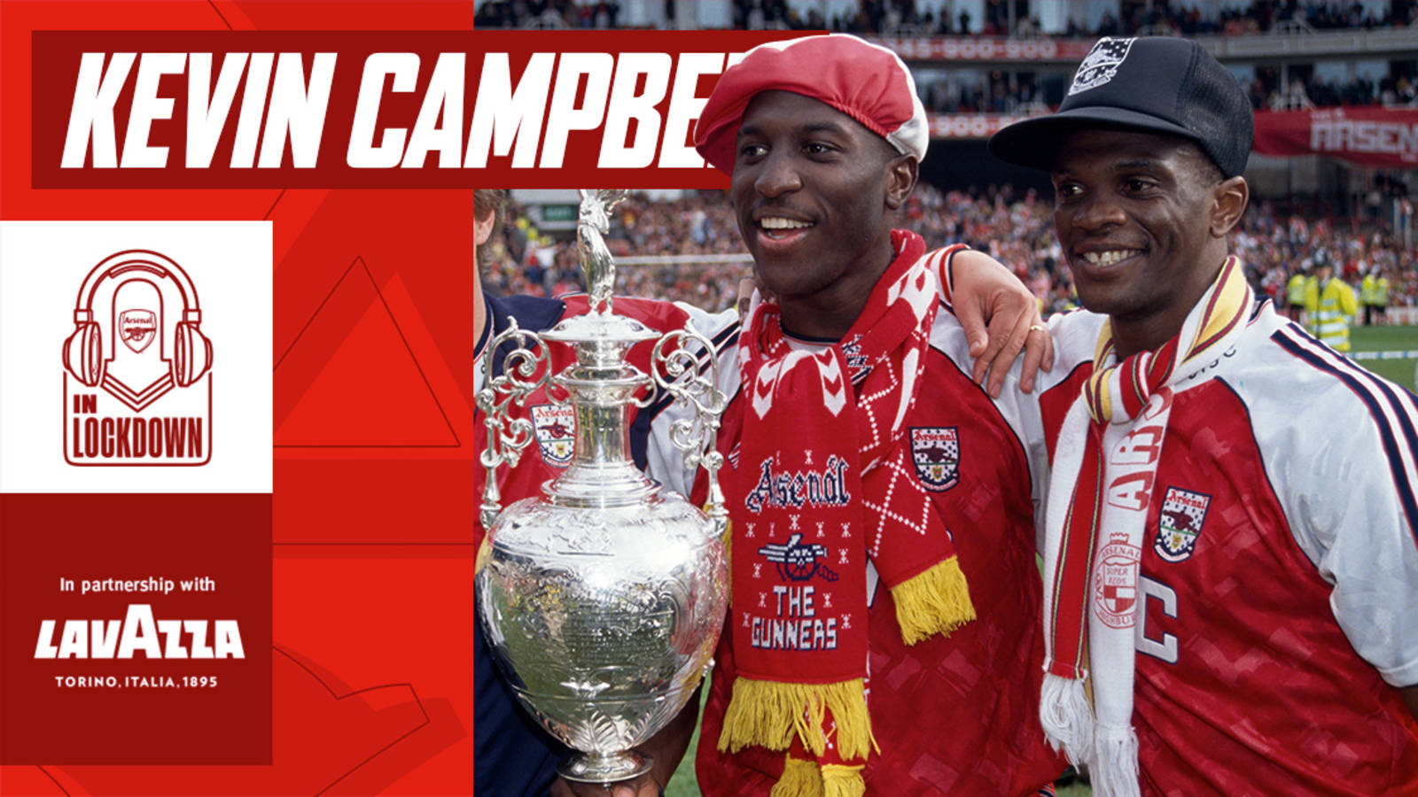 🎧 Listen to our podcast with Kevin Campbell! | Podcast | News | Arsenal.com