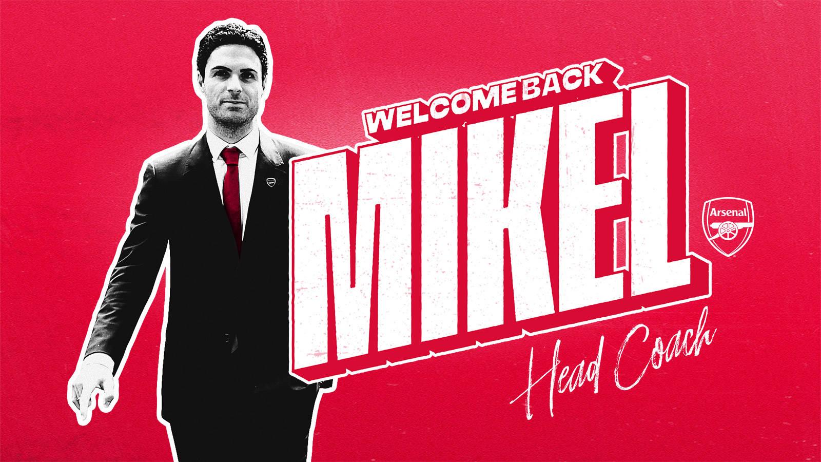 Mikel Arteta Joining As Our New Head Coach Club Announcement News Arsenal Com