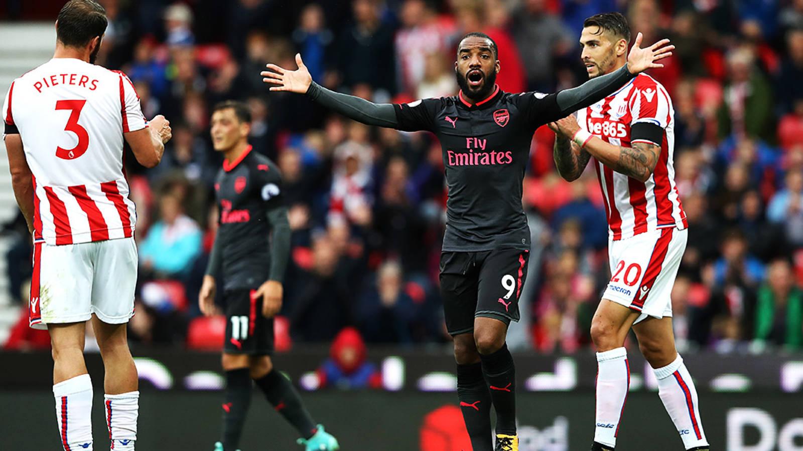 Arsenal Stoke
