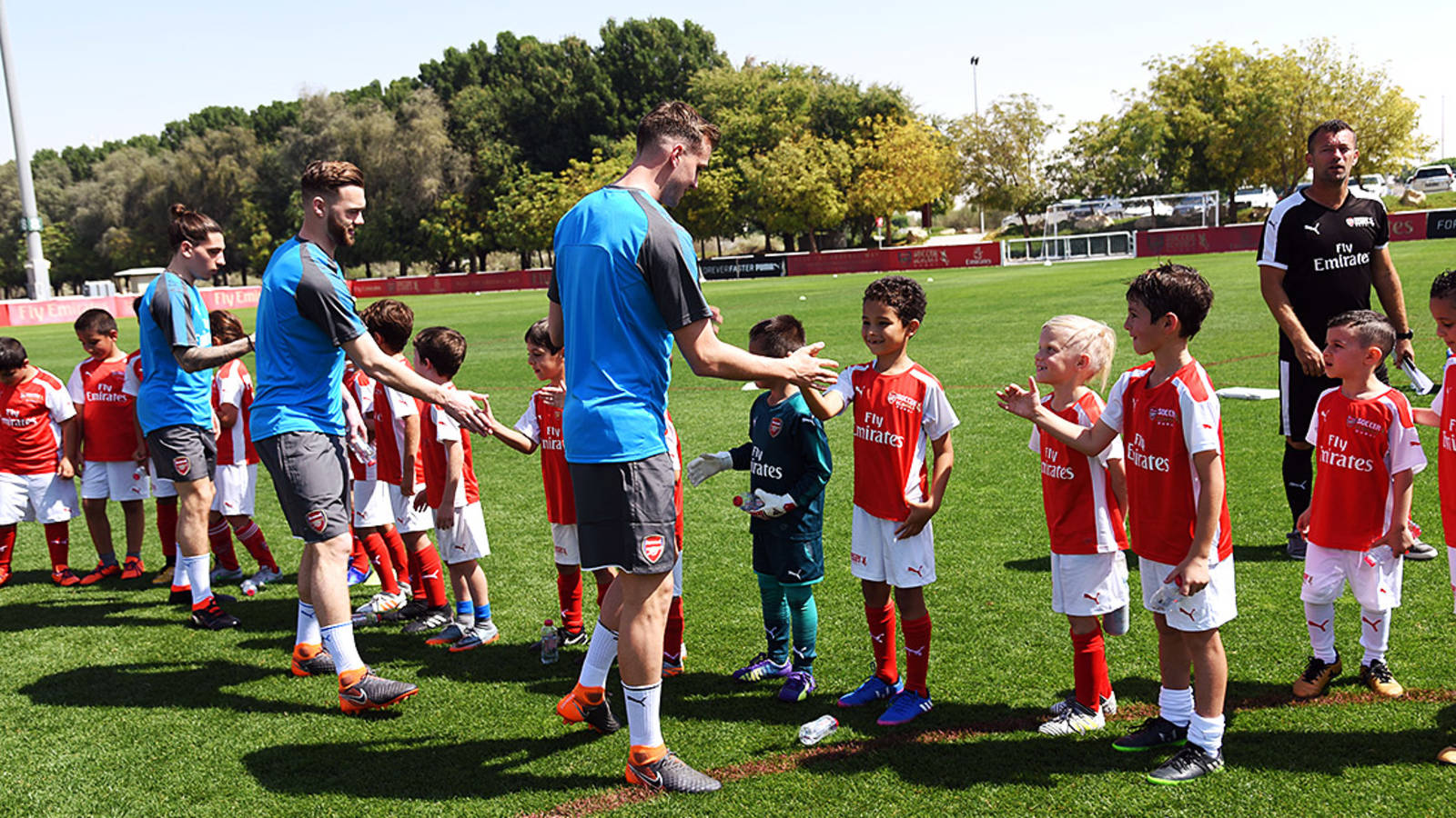 Arsenal Soccer School Dubai Opens For New Term The Club News Arsenal Com
