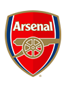 Arsenal                          Willock (38)                    Saka (85)                    Aubameyang (88)                 crest