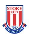 Stoke City                                          Peter Crouch (1)                            Bojan (35)                            Jonathan Walters (45)                               crest