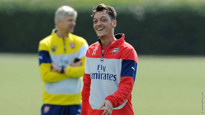 Ozil - My admiration for Cazorla | News | Arsenal.com