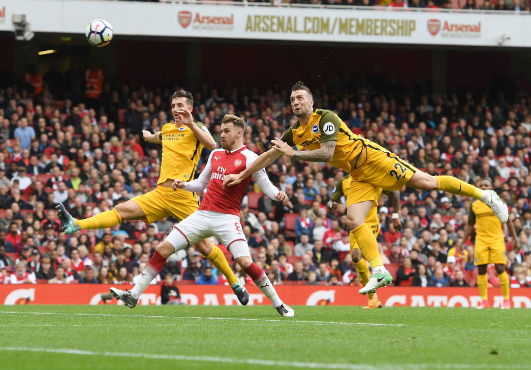 Arsenal Gallery: Arsenal V Brighton: In Pictures