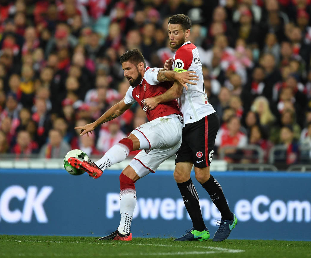 Arsenal Gallery: Western Sydney Wanderers V Arsenal: Pictures