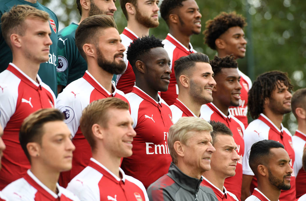 Arsenal News: Behind The Scenes At The Arsenal Photocall