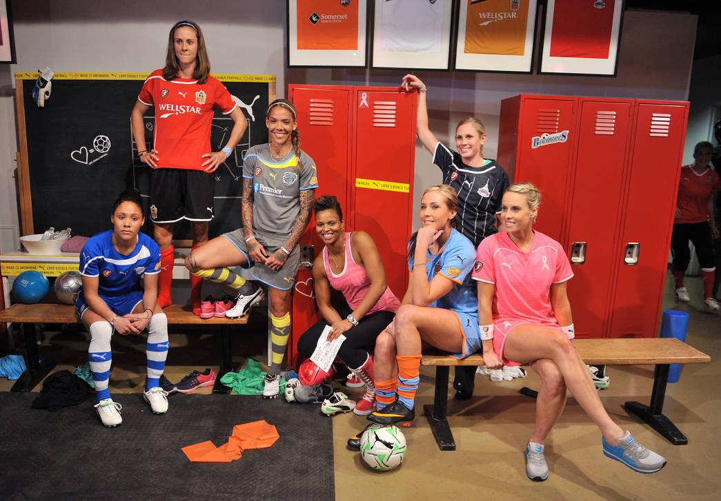 Alex Scott launches the Women's Soccer League