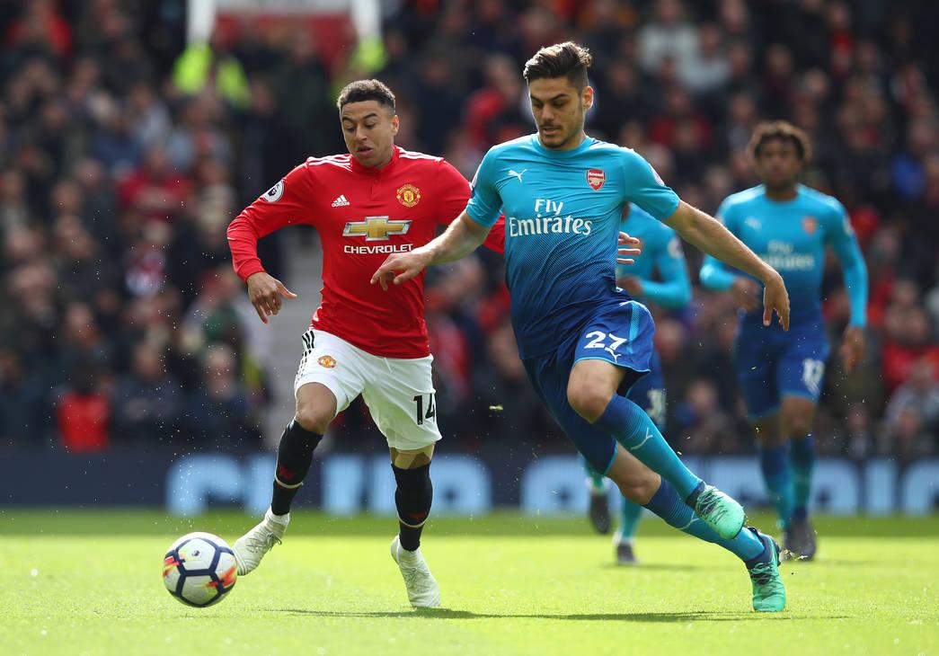 Arsenal 1 Man United 2