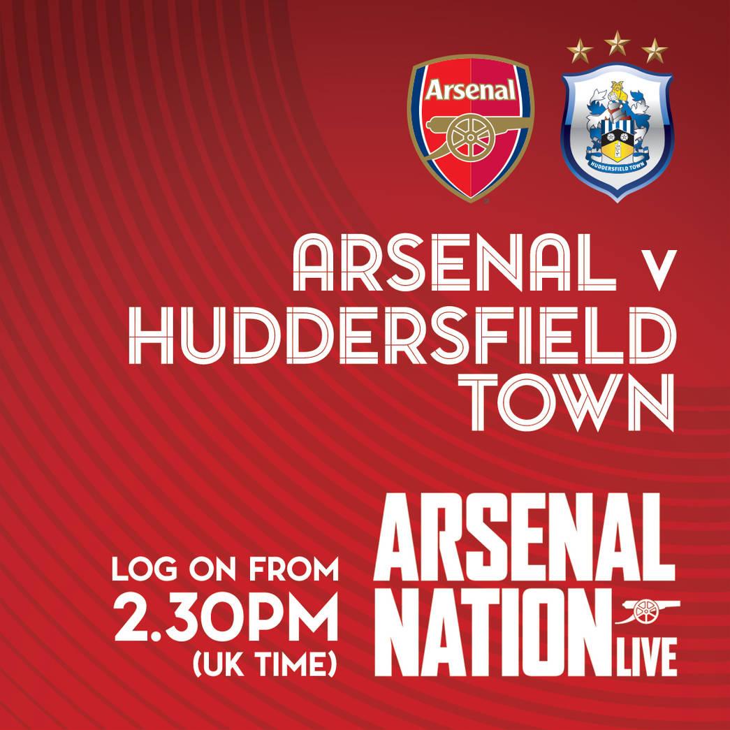 Tottenham Vs Huddersfield Live: Arsenal V Huddersfield Town: The Brief