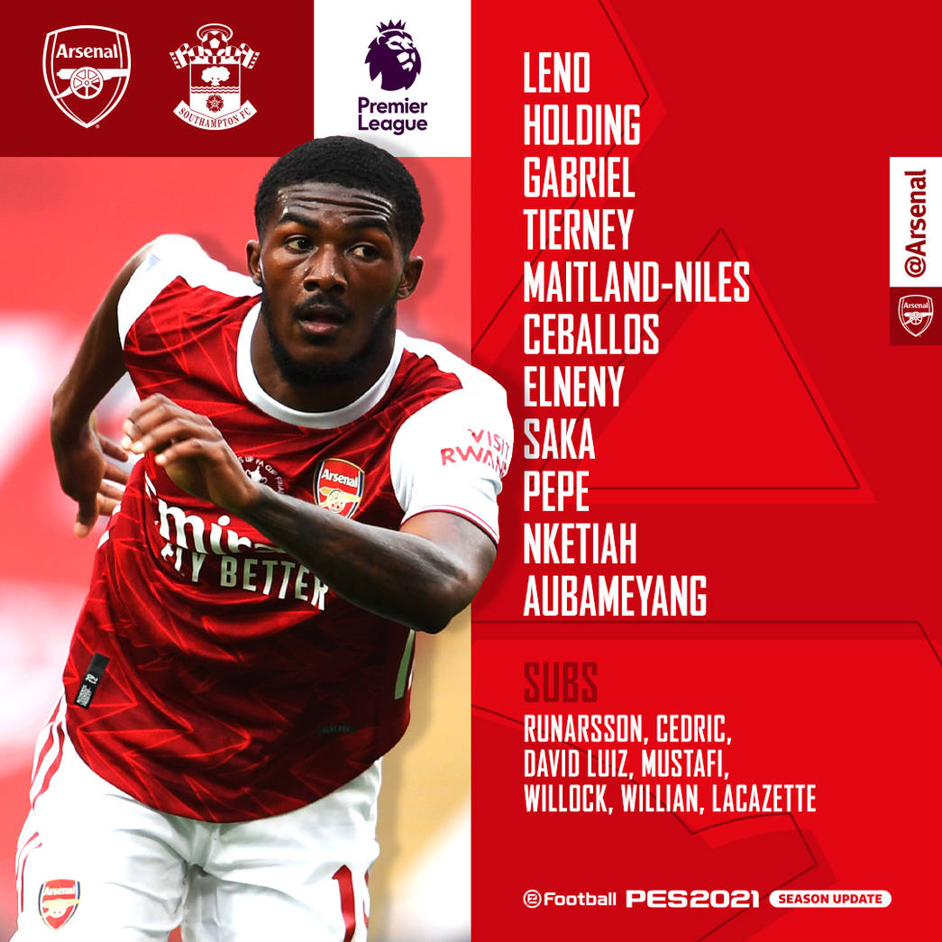 Team News Southampton