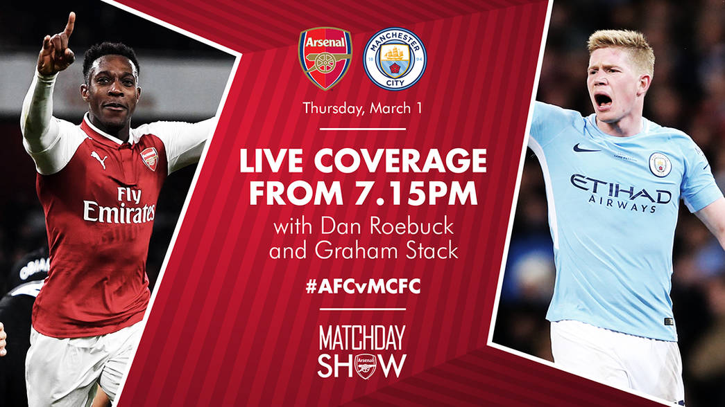Matchday Show Man City H