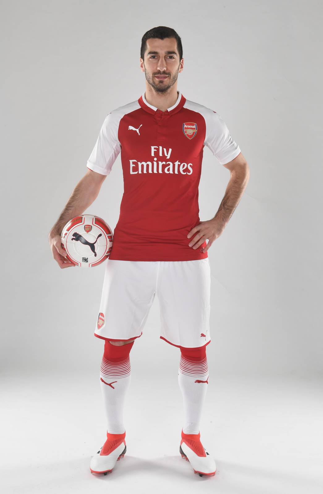 best service 58257 6eec4 Pictures: Henrikh Mkhitaryan in Arsenal kit | Gallery | News ...