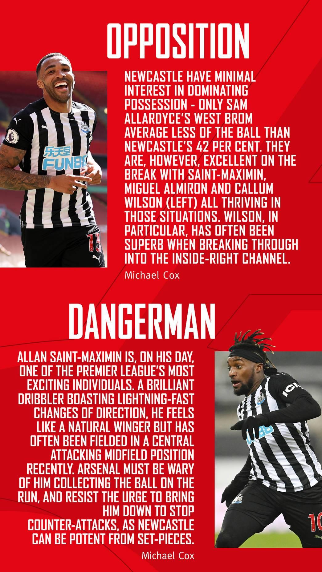Newcastle United Team News