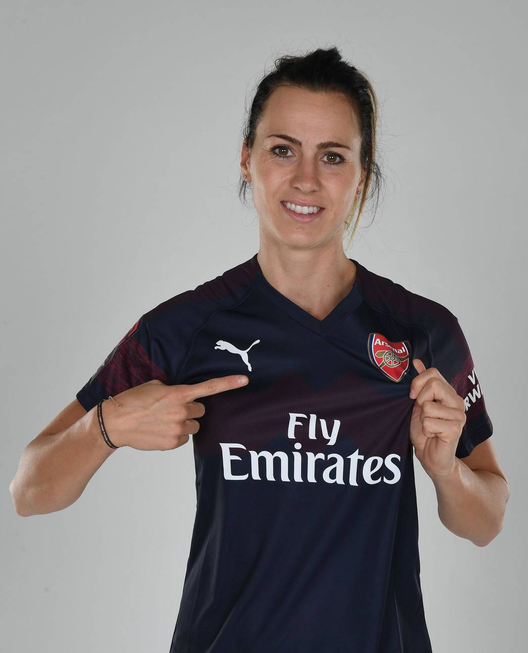 d9236bb3b Arsenal Women model PUMA 2018 19 away kit
