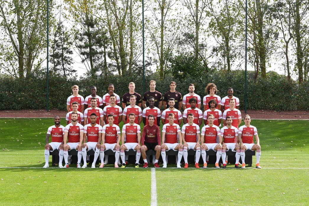 Arsenal Football Club 2018/19 Official Squad Photo