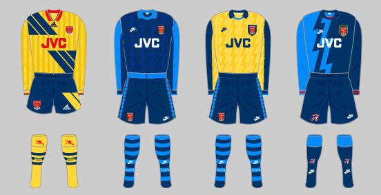a2588a71337 The Arsenal home kit