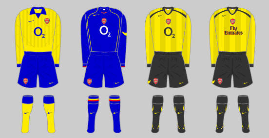 95bf1ac9aef The Arsenal home kit
