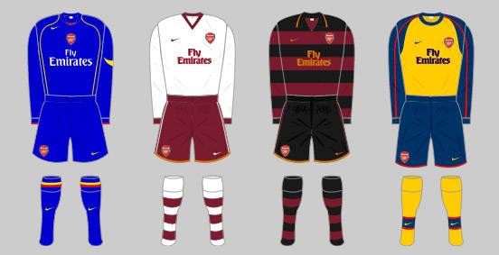 e6b21ccf4c3 The Arsenal home kit