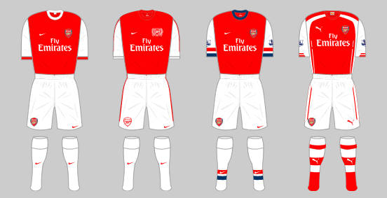 d6e877c24 The Arsenal home kit