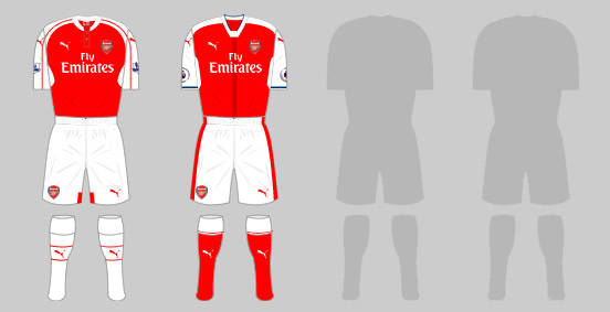 5e4d26bd6 The Arsenal home kit - A history. 16 of 16