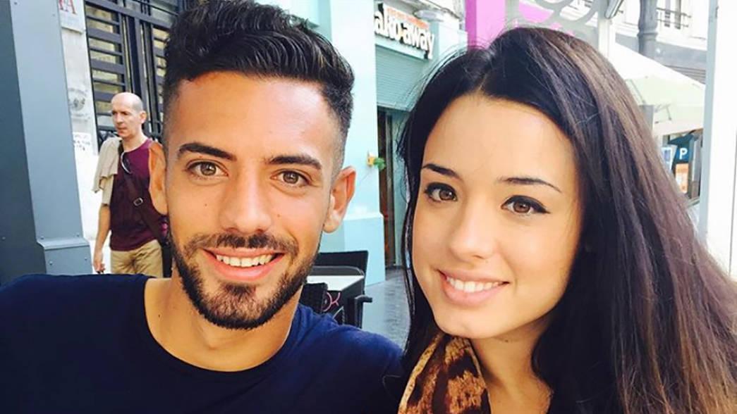 Pablo with his sister (via pablomv5 on Instagram)