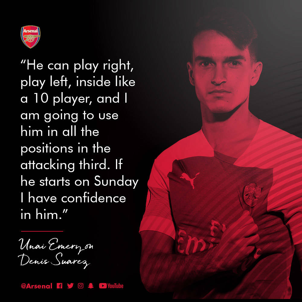 Emery We Want To Play With Mkhitaryan In Baku: Manchester City V Arsenal: The Brief