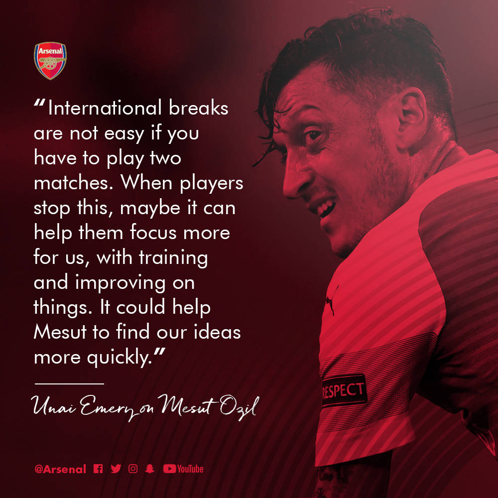 Emery We Want To Play With Mkhitaryan In Baku: Arsenal V Leicester City: The Brief