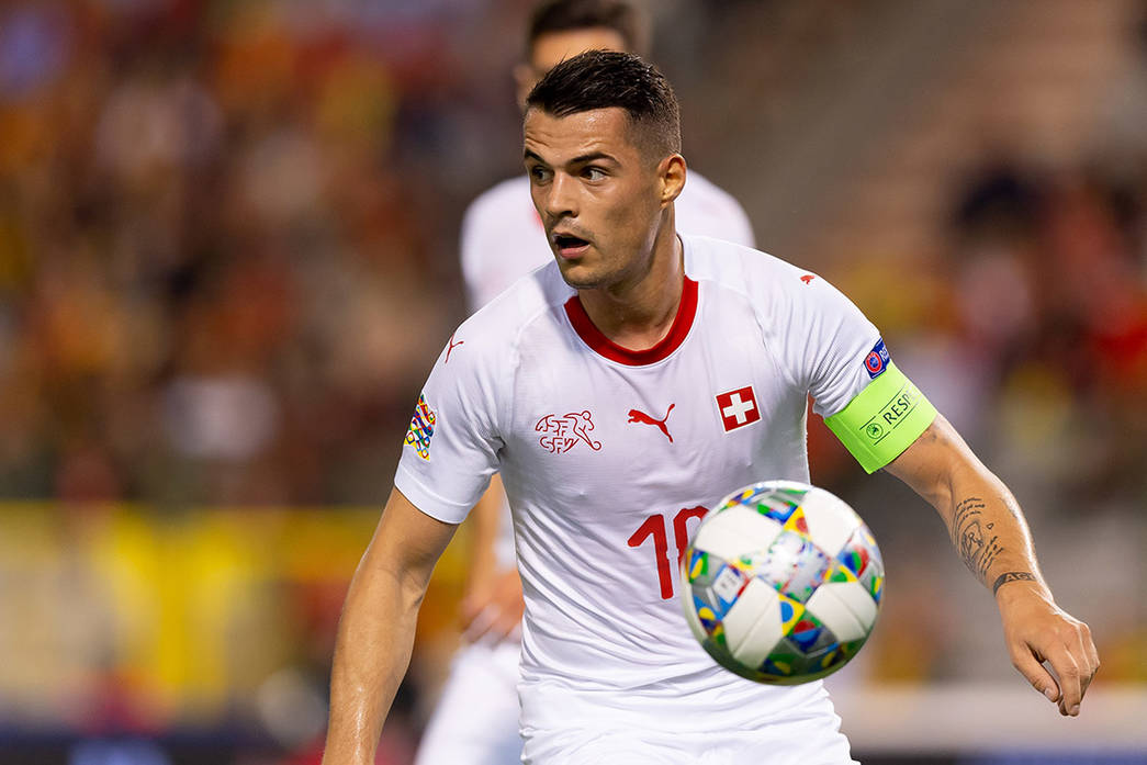 Granit Xhaka captains Switzerland