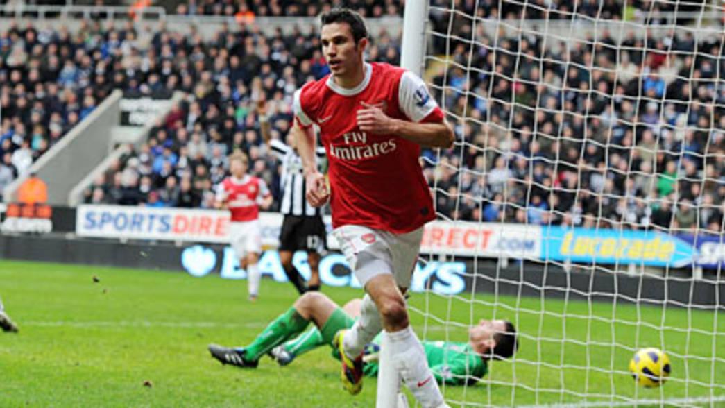 Newcastle United 4 4 Arsenal Match Report Arsenal Com
