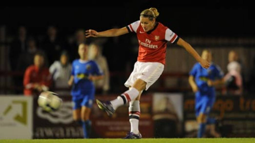12/13 Ladies: Arsenal 1 - Bristol Academy -  Kelly Smith